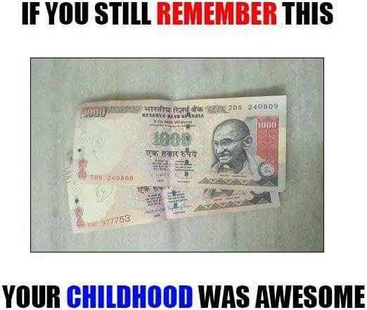 Narendra Modi 1000 Rupee Note Trolls
