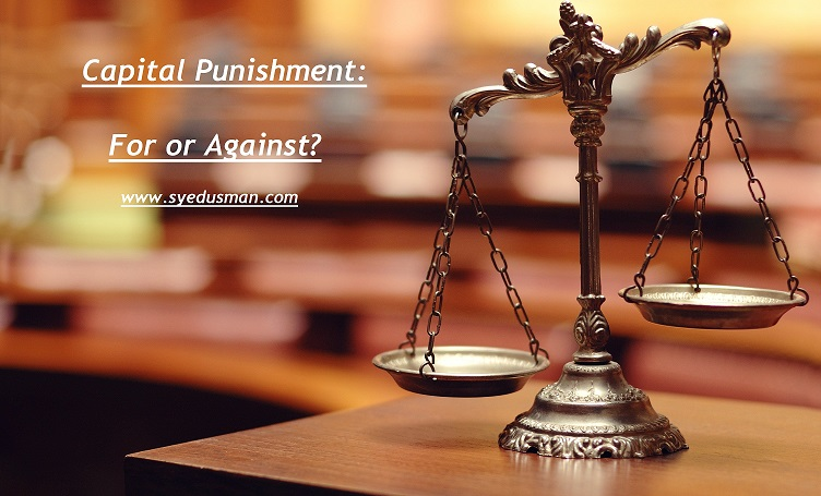 Capital Punishment Debate and Essay