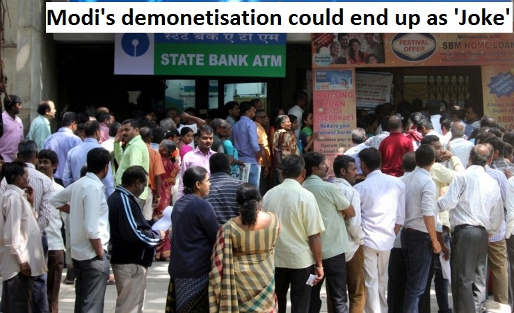 Demonetization Effects: A Political Joke