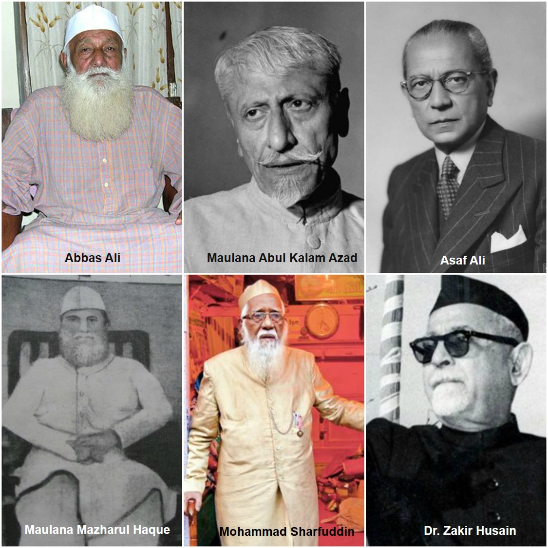 Indian Muslims - Muslim Indian Freedom Fighters