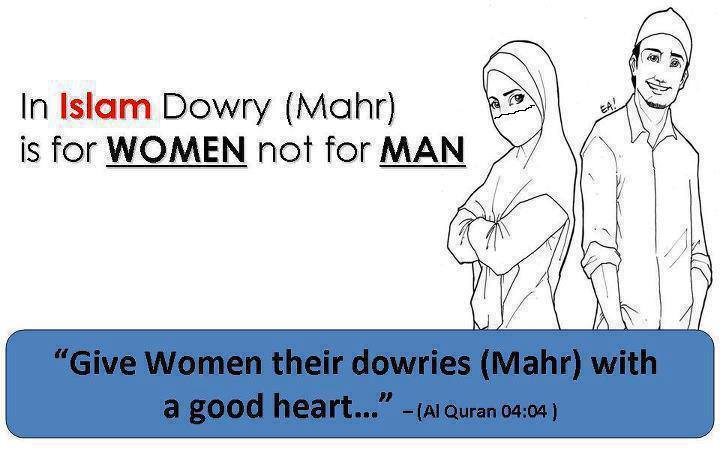 Dowry System Essay - Dowry in Islam
