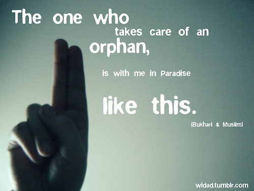 Orphan Quotes Islam - Helping Orphanage Quotes