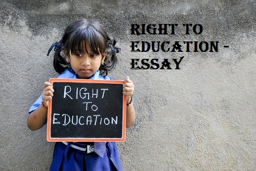 RTE Essay - Right to Education Essay