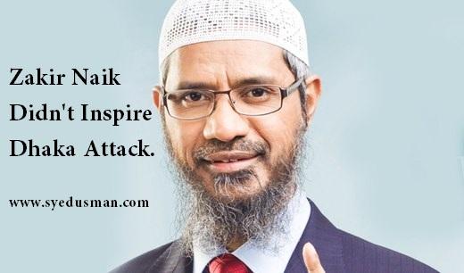 Zakir Naik is not a Terrorist