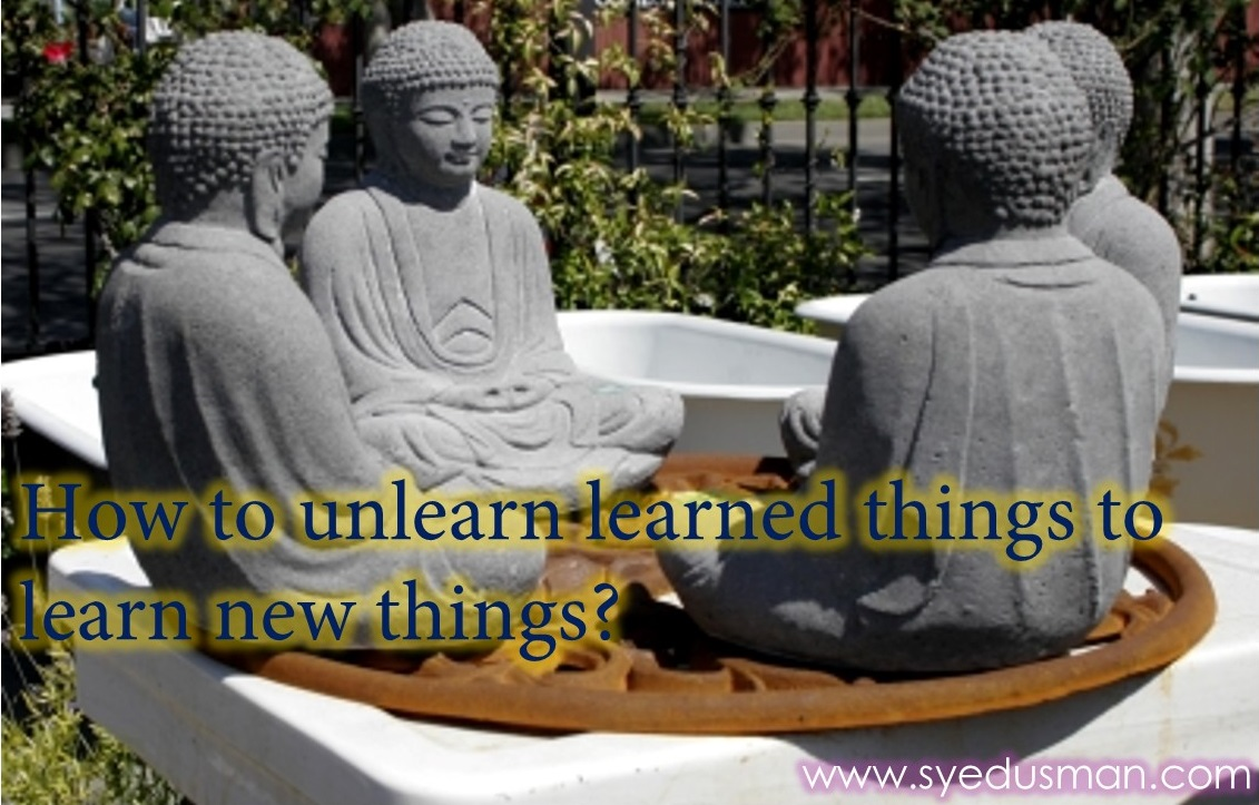 Zen Story, A Cup of Tea, Unlearn Things