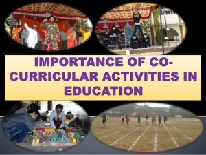 co curricular activities essay